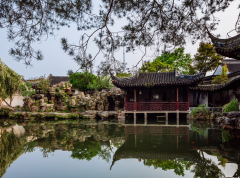 Shanghai Day Tour to Suzhou Master of nets Garden and Shan Tang Water Village with round way transfer